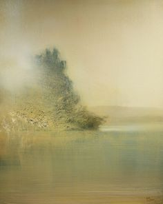 """""""Sunrise, The Lake"""" Is Featured On The Saatchi Online Blog"""