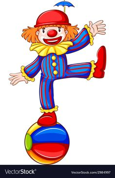 Funny Cartoon Clowns Are Free To Copy For Your Own Personal Use. Carnival Themed Party, Circus Theme, Circus Party, Circus Clown, Clown Party, Drawing For Kids, Art For Kids, Clown Images, Cute Clown