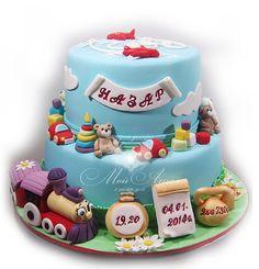 Childrens cake.Детский торт на годик.
