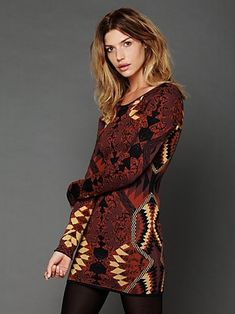 Huntress of Man Bodycon by Free People clothing (www.freepeople.com)