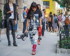 New York Fashion Week SS2015 - Susie Lau - Tenth Avenue | THE STYLESEER