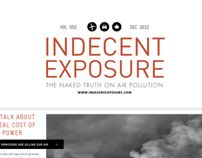 Indecent Exposure Newsletter by Ashleigh Brewer, via Behance