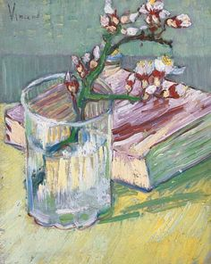 Vincent van Gogh     Branch of Almond Blossoms     1888