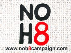 "Cory F. Fall 2014 Section 2. ""NOH8 (No Hate)"" – 2009. An interactive media campaign and 'photographic silent protest' formed by Jeff Parshley and Adam Bouska as a response to Prop 8 where influencers from all over the world are photographed with their mouths covered in duct tape to symbolize the 'silencing' of the LGBT community and supporters by such legislation. The movement encourages people to take a stand against all forms of discrimination. 