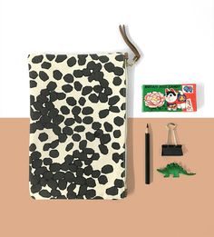 Dermond Peterson Scattered Dots Pouch - you can win one! details on happymundane.com