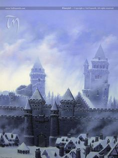 Winterfell by Ted Nasmith