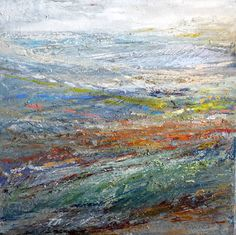 Layers of Late September, Isle of Skye. Grand Art, Light And Shadow, Mixed Media, Abstract, Drawings, Layers, September, Painting, Beautiful