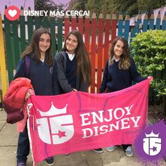 #Disney más cerca para las chicas del Integral con el #promoTeam2016Disfrutá un #WorldDisneyWorld único con Transatlántica #Enjoy15