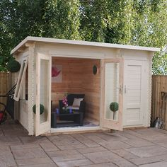 3.5m x 2.4m Waltons Carlton Log Cabin
