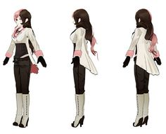 RWBY Cosplay -- Neopolitan Cosplay Costume Version 01