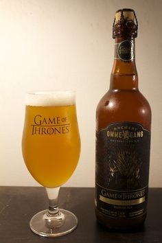 New Game of Thrones beer, Ommegang Brewerys Iron Throne Blonde Ale.