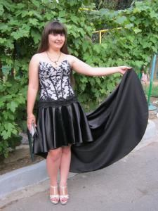 Как вшить молнию в платье с юбкой солнце.от El@ana