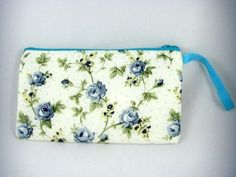 """Thai Cosmetic Bag Handmade with Cotton and Art Design (Thai Handmade) by Thai Handmade Crafts. $15.00. Size :Length: 7"""" Height: 4"""" Color : As Model Good zipper (in Bright Blue color) on top"""