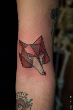 origami fox. M—X—M