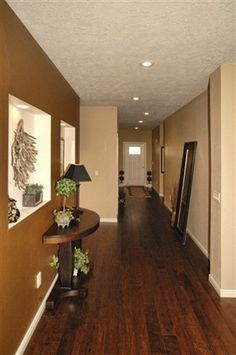 hard wood floors ~ love this color