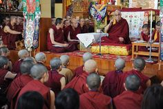 "There will be live webcasts of His Holiness the Dalai Lama's four day teaching on Nagarjuna's ""Sixty Stanzas of Reasoning"" & Tsongkhapa's ""Concise Treatises on the Stages of the Path to Enlightenment"" at the request of a group from Taiwan at the Main Tibetan Temple in Dharamsala, India, on September 30th to October 3rd, 2013."