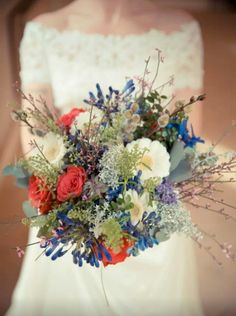 Rustic wedding bouquet #primpwedding