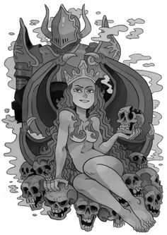 Pin-up of Morgan Le Fay commissioned by Joe Dragunas, for his upcoming comic book! ★ || CHARACTER DESIGN REFERENCES (www.facebook.com/CharacterDesignReferences & pinterest.com/characterdesigh) • Do you love Character Design? Join the Character Design Challenge! (link→ www.facebook.com/groups/CharacterDesignChallenge) Share your unique vision of a theme every month, promote your art, learn and make new friends in a community of over 16.000 artists who share your same passion! || ★