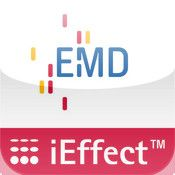 Have a look at our app: #EMD iEffect! You can see different effects, e.g. the sparkling effect of #Xirallic or the multicolor effect of #Colorstream