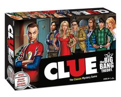 CLUE: The Big Bang Theory Edition