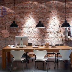 Loft à Amsterdam...Brick wall...ahhh