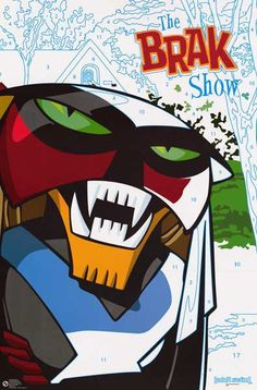 The Brak Show Paint By Numbers Adult Swim Cartoon Poster 23x35 – BananaRoad