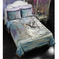 Nene Thomas Queen of Owls pillow sham and bed spread