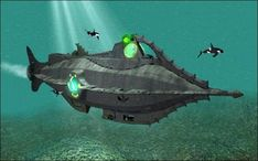 Nautilus Submerged