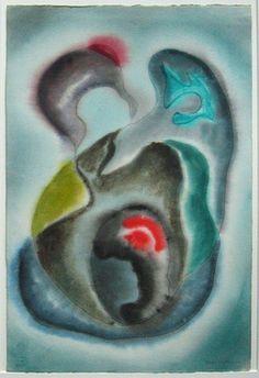 Nassos Daphnis, 'A Happy Journey,' 1948, Anita Shapolsky Gallery