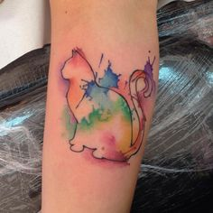 150 Artistic Watercolor Tattoos Ideas nice  Check more at http://fabulousdesign.net/watercolor-tattoos-ideas/