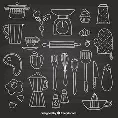 Resultado de imagem para cozinha com quadro de giz