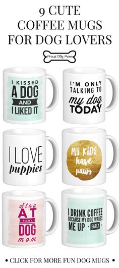 9 cute coffee mugs for dog lovers gifts for dog lovers diy dog gifts
