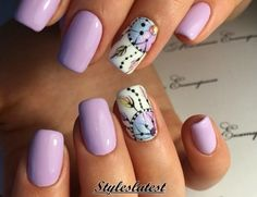 15+ Cool and Beautiful Short Nail Art Ideas 2016