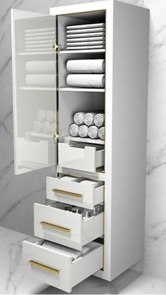 Easy Bathroom Updates, Simple Bathroom, Modern Bathroom Design, Bathroom Interior Design, Bathroom Accesories, Washroom, Bathroom Organization, Bathroom Furniture, Shoe Rack