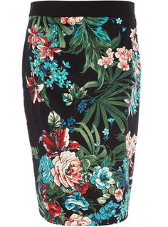 my favorite silhouette in a distinct floral print