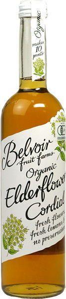 Organic herb and fruits drink Cordial 有機コーディアル エルダーフラワー 500ml
