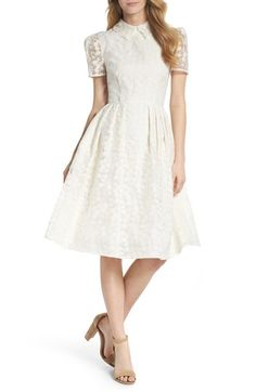 5b8f0edd6434 Gal Meets Glam Collection Amelia Embroidered Fit   Flare Dress