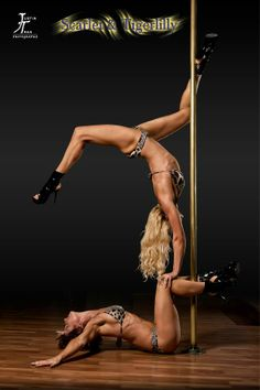 Justin Tran Photography Models: Rachel Papalia & Melissa Ann Bexon — with Rachel Papalia, Chriszelda Schoeman and Marize Schlenter at Pole Perfect Dance Studio.