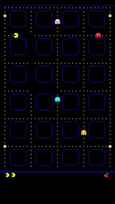 ↑↑TAP AND GET THE FREE APP! Shelves Pac-Man Navy Blue Icons Games Geeks HD iPhone 6 plus Wallpaper