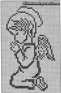 Cross Stitch Angels, Cross Stitch Borders, Cross Stitch Baby, Cross Stitch Alphabet, Modern Cross Stitch, Cross Stitch Designs, Cross Stitching, Cross Stitch Embroidery, Cross Stitch Patterns