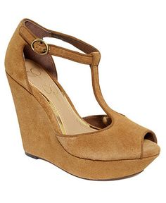 Jessica Simpson Shoes, Shama Platform Wedge Sandals - Sandals - Shoes - Macy's