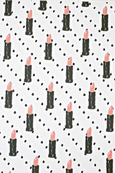 free printable lipstick paper
