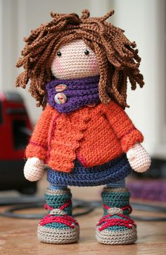 Ravelry: Doll Monja by CAROcreated design