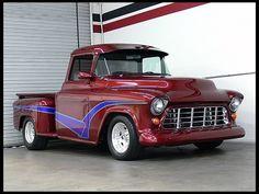 1955 Chevrolet  Pickup 350 CI, Automatic  #Mecum #Anaheim