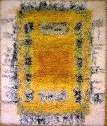 Rya Rug, Rug Making, Floor Rugs, Scandinavian, Cool Designs, Bohemian Rug, Weaving, Textiles, Flooring