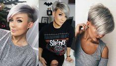 *** Trendy, stoer en stijlvol: de sidecut! Bekijk hier 14 prachtige korte kapsels! Wat een geweldige look vind je niet?