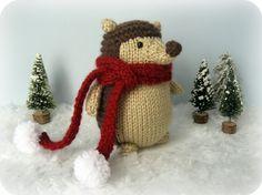 Sale - Amigurumi Knit Hedgehog Pattern Digital Download