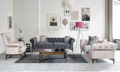 Gray Chester Sofa Set Model and Combinations 2018 Gebogenes Sofa, Sofa Furniture, Modern Furniture, Furniture Design, Couch, Ästhetisches Design, Modern Design, Grey Sofa Set, Home Living