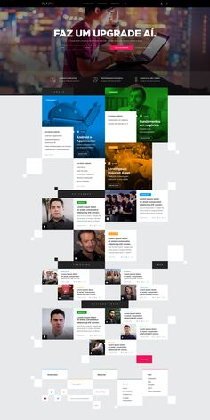 Proposal Website FIAPX by MENDESign