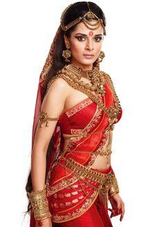 Pooja Sharma as Draupadi in Mahabharat Indian Beauty Saree, Indian Sarees, Saris, Pooja Sharma, Most Beautiful Indian Actress, India Beauty, Indian Girls, Indian Bridal, Indian Dresses